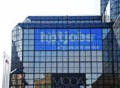 custom window graphics at Jacob Javitz Center in New York