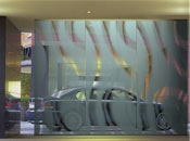custom decorative frosted film