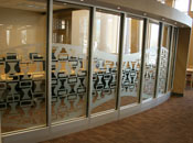 Custom frosted decorative film