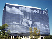 Custom Window Graphics - Philips Building.